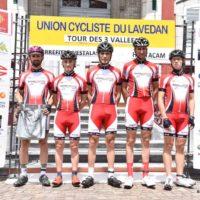 L'équipe au Tour des 3 Vallées